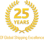 25 Years of Global Shipping Excellence
